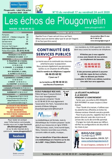 Bulletin 13